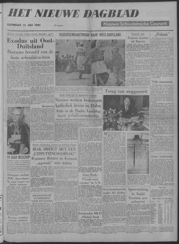 Nieuwe Schiedamsche Courant 1961-07-15