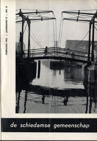 Schiedamse Gemeenschap (tijdschrift) 1962-02-01