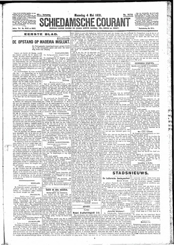 Schiedamsche Courant 1931-05-04