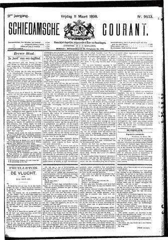 Schiedamsche Courant 1898-03-11