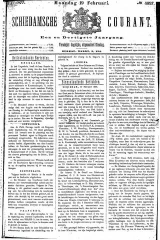 Schiedamsche Courant 1877-02-19