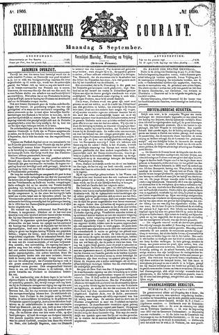 Schiedamsche Courant 1866-09-03