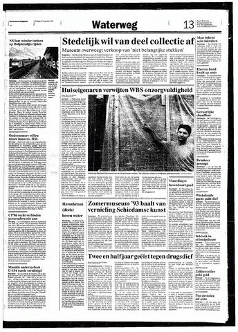Rotterdamsch Nieuwsblad / Schiedamsche Courant / Rotterdams Dagblad / Waterweg / Algemeen Dagblad 1993-08-27