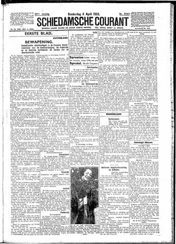 Schiedamsche Courant 1935-04-04