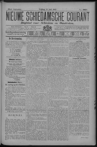 Nieuwe Schiedamsche Courant 1913-07-11