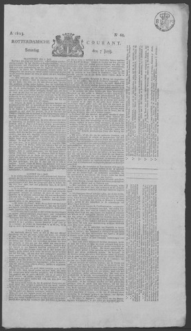 Rotterdamse Courant 1823-06-07