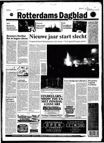 Rotterdamsch Nieuwsblad / Schiedamsche Courant / Rotterdams Dagblad / Waterweg / Algemeen Dagblad 1998-01-02