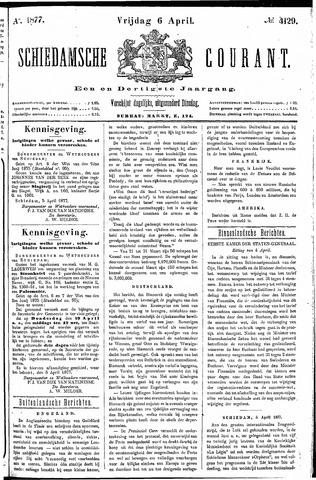 Schiedamsche Courant 1877-04-06