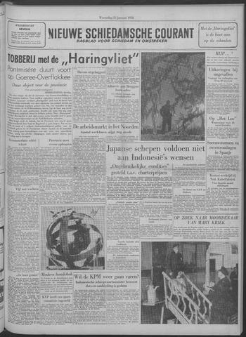 Nieuwe Schiedamsche Courant 1958-01-15