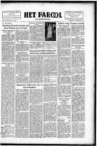 Rotterdamsch Parool / De Schiedammer 1946-08-20
