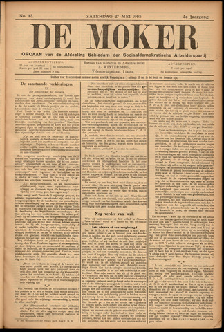De Moker 1905-05-27