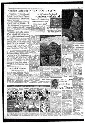 Rotterdamsch Parool / De Schiedammer 1957-04-27