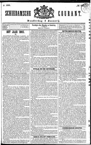 Schiedamsche Courant 1866-01-04