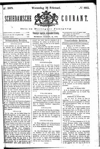 Schiedamsche Courant 1879-02-26