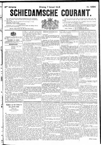 Schiedamsche Courant 1908-01-07