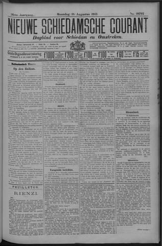 Nieuwe Schiedamsche Courant 1913-08-18