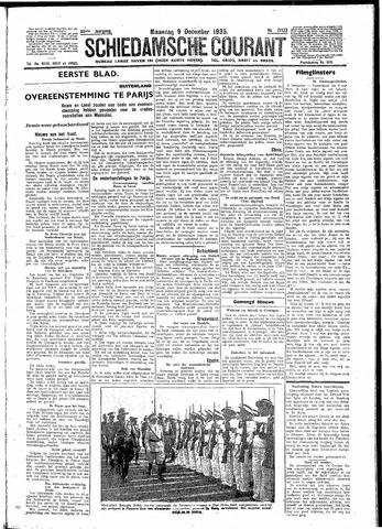 Schiedamsche Courant 1935-12-09