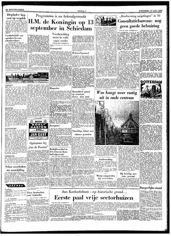 Trouw / De Rotterdammer 1962-07-11