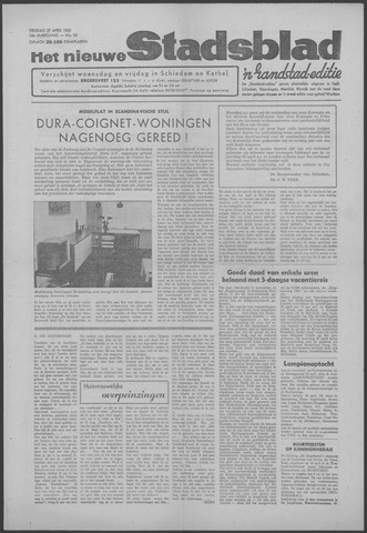 Het Nieuwe Stadsblad 1962-04-27