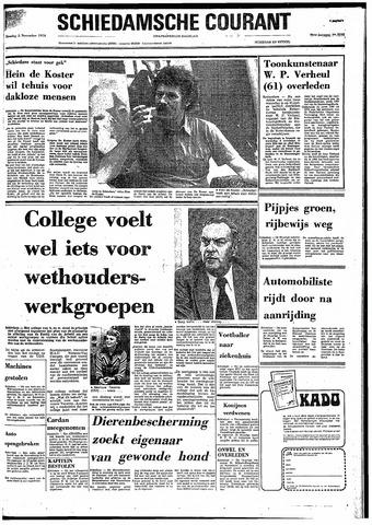 Rotterdamsch Nieuwsblad / Schiedamsche Courant / Rotterdams Dagblad / Waterweg / Algemeen Dagblad 1974-11-05