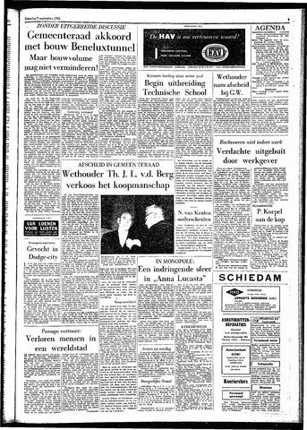 Rotterdamsch Parool / De Schiedammer 1961-09-09