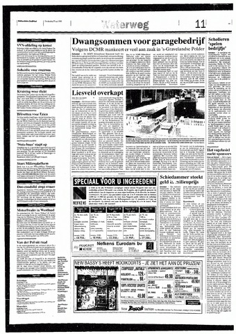 Rotterdamsch Nieuwsblad / Schiedamsche Courant / Rotterdams Dagblad / Waterweg / Algemeen Dagblad 1993-05-27