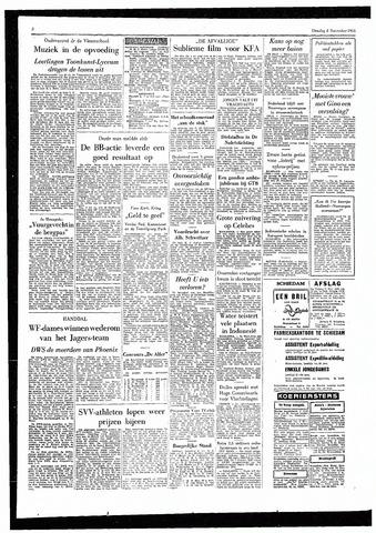 Rotterdamsch Parool / De Schiedammer 1955-11-08
