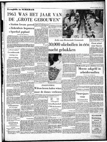 Rotterdamsch Parool / De Schiedammer 1963-12-31