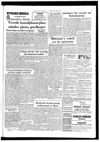 Rotterdamsch Nieuwsblad / Schiedamsche Courant / Rotterdams Dagblad / Waterweg / Algemeen Dagblad 1966-02-26