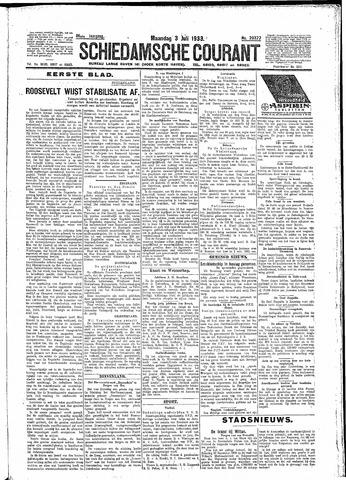 Schiedamsche Courant 1933-07-03