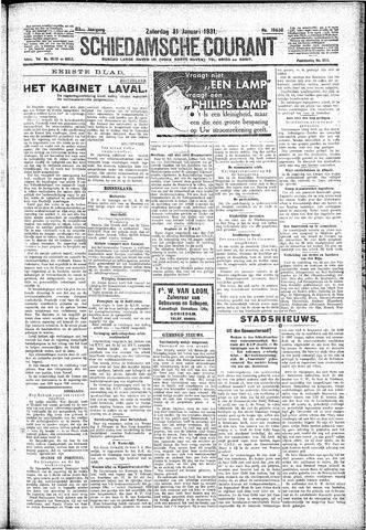 Schiedamsche Courant 1931-01-31