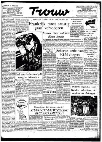 Trouw / De Rotterdammer 1957-07-27