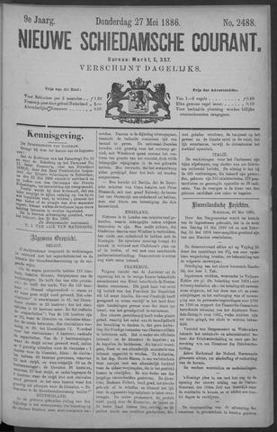 Nieuwe Schiedamsche Courant 1886-05-27
