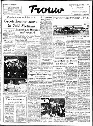 Trouw / De Rotterdammer 1955-06-06