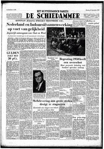 Rotterdamsch Parool / De Schiedammer 1949-09-20