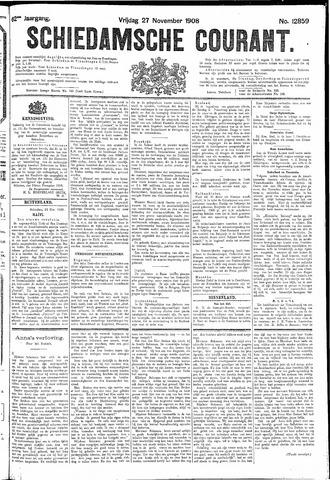 Schiedamsche Courant 1908-11-27