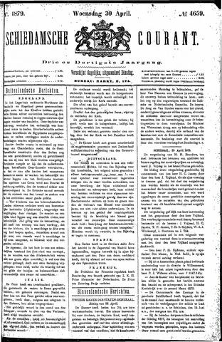 Schiedamsche Courant 1879-04-30