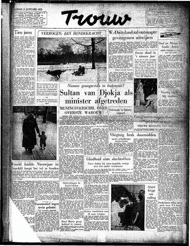 Trouw / De Rotterdammer 1953-01-02