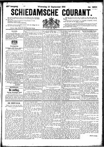 Schiedamsche Courant 1916-09-27