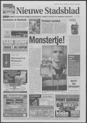 Het Nieuwe Stadsblad 2007-06-27