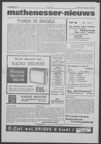 Mathenesser Nieuws 1963-10-24
