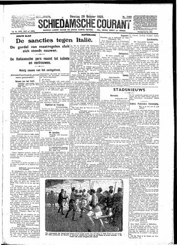 Schiedamsche Courant 1935-10-29