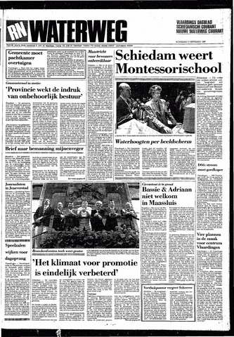 Rotterdamsch Nieuwsblad / Schiedamsche Courant / Rotterdams Dagblad / Waterweg / Algemeen Dagblad 1987-09-09