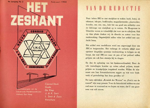 Het Zeskant 1950-02-01