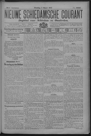 Nieuwe Schiedamsche Courant 1913-03-04