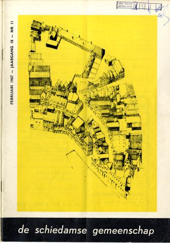 Schiedamse Gemeenschap (tijdschrift) 1967-02-01