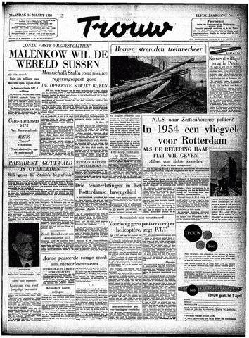 Trouw / De Rotterdammer 1953-03-16