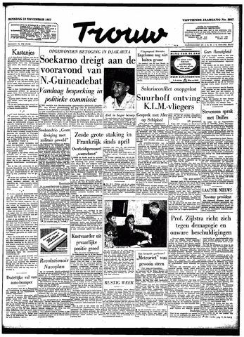 Trouw / De Rotterdammer 1957-11-19
