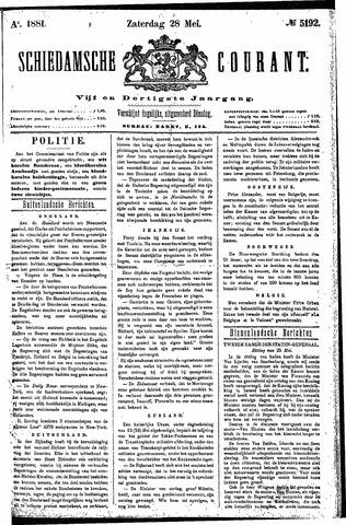 Schiedamsche Courant 1881-05-28