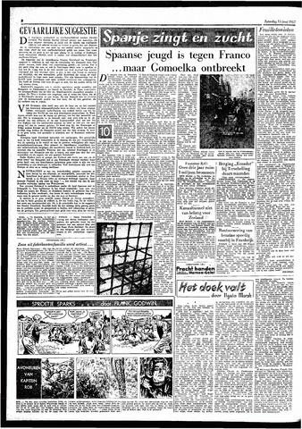 Rotterdamsch Parool / De Schiedammer 1957-06-15